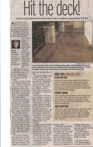 Tribune article All Hands On Deck