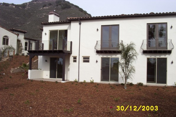 Spyglass Ridge Phase IV in Pismo Beach done in 2003-3004